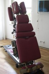Chiropraxis-Juras Lloyd Galaxy Ultimate Behandlungsliege hoch